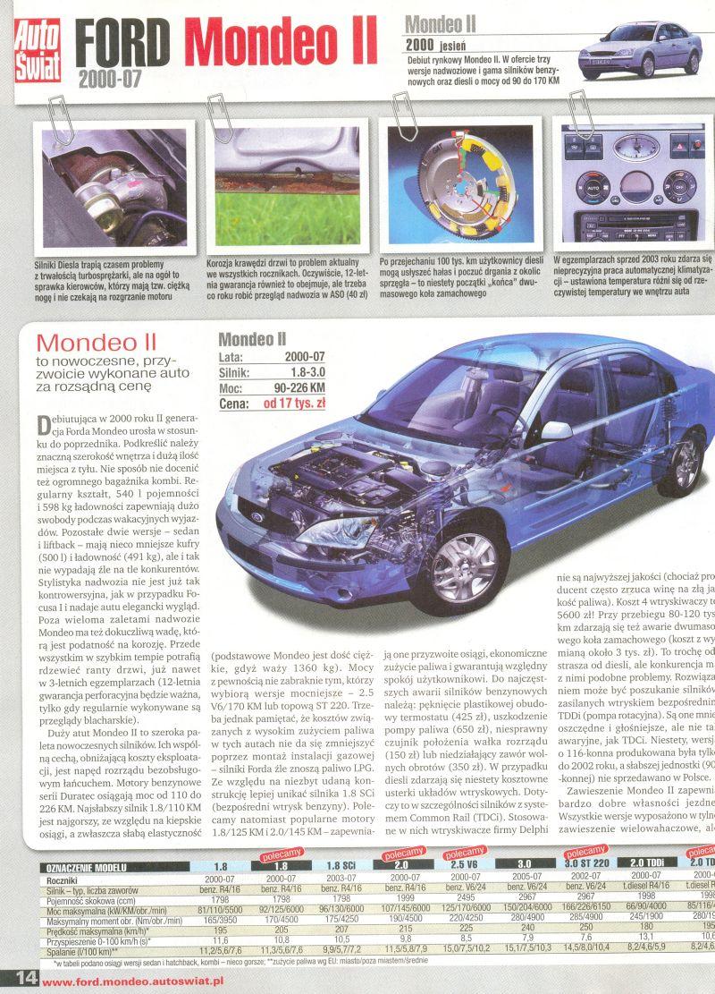 mk3 tdci 130km automat kto ma opisy samochodu problemy archiwum forum ford club polska